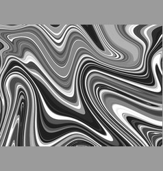 Black and white marbling texture design for poster vector