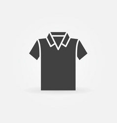 Modern t-shirt icon vector