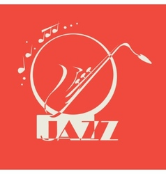 Saxophone Motif vector image