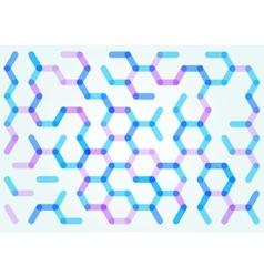 Seamless pattern hexagonal net vector