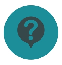 Status flat soft blue colors round button vector