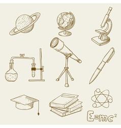 science vector image vector image