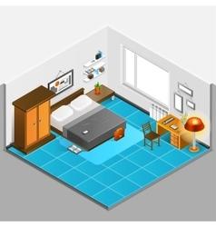 Home Interior Isometric vector image