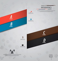 infographics design 12 vector image vector image