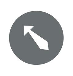 Arrow icon vector