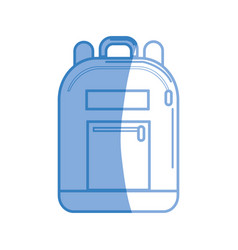 Backpack tool to save thing and study vector