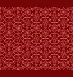 Christmas seamless lace pattern geometric mosaic vector