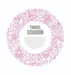 Ecuador vector