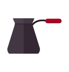 Ibrik cezve for coffee pot beverage caffeine vector
