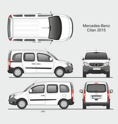 Mercedes citan 2015 l1 combi van vector
