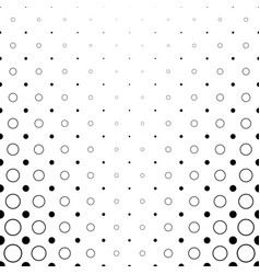 monochrome abstract circle pattern background vector image