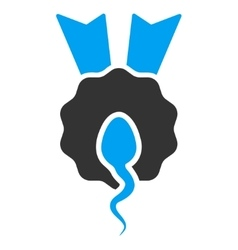 Sperm Winner Icon vector image