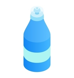 Sport bottle 3d isometric icon vector