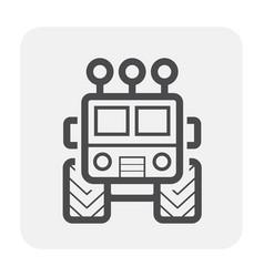 suv offroad icon vector image