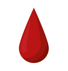blood drop donate donor vector image