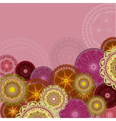 Arabesques Patterns Background vector image vector image