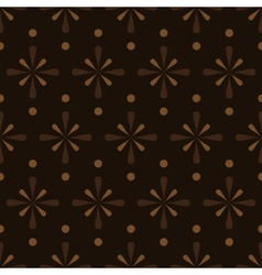 abstract brown seamless pattern eps10 vector image