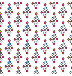 Abstract simple seamless pattern design vector
