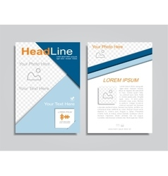 Brochure design layout vector
