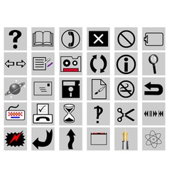 Different signs vector