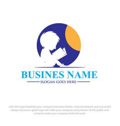 read logo designs vector image
