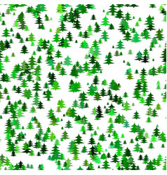 seamless abstract random christmas background vector image