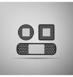 Bandage plaster icon vector image
