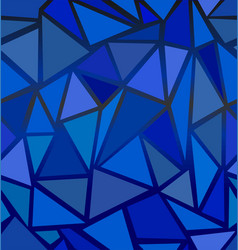 structure of triangles vector image vector image