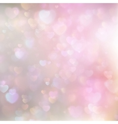 Hearts Abstract Pink Background EPS 10 vector image vector image