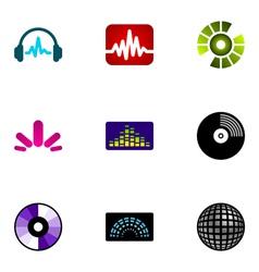 logo design elements set 48 vector image vector image