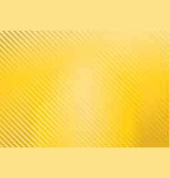 yellow background with stripe pattern vector image vector image