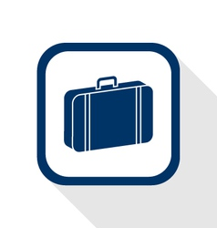 Case flat icon vector