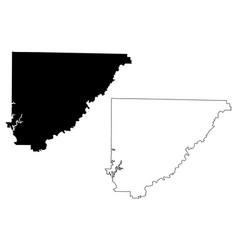 cullman county alabama counties in alabama united vector image