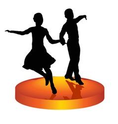 dance a waltz vector image