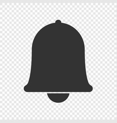 notification bell icon vector image