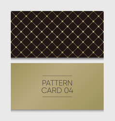 Pattern-card-04 vector