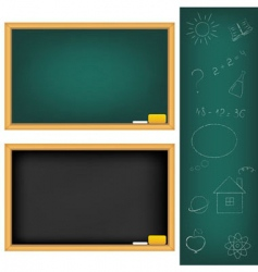 School boards vector