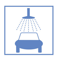 icon car wash vector image