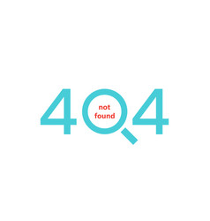 not found icon vector image