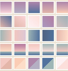 Photo frame background filters vector