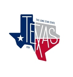 texas related t-shirt design lone star state vector image