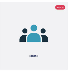 two color squad icon from tools and utensils vector image