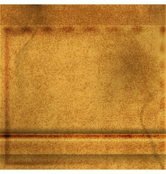 abstract brown leather background vector image vector image
