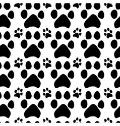 Traces of dogs vector image