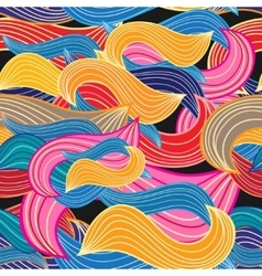 Graphic abstract pattern vector image