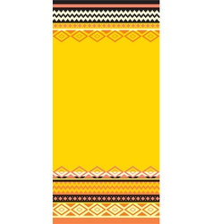 traditional ethnic motifs vector image