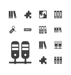 13 order icons vector