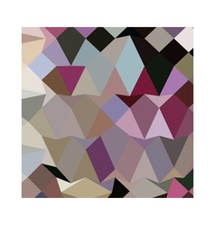 Antique Fuschia Abstract Low Polygon Background vector image