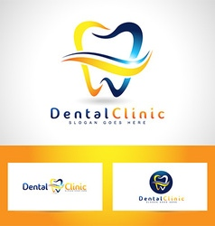 Dental Care Logo Design vector