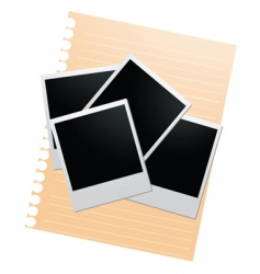 document templates vector image